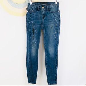 Rock & Republic Kashmiere distressed jeans 6M